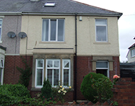 An end terrace property near Seaham